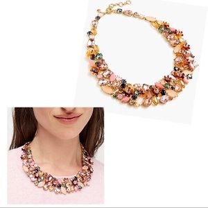 NWT J. Crew Cluster Statement Necklace